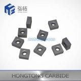 Esteira de giro das inserções do carboneto de tungstênio do CNC
