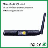 DMX512 Transmisor inalámbrico/discoteca/fase/ Pantalla Digital /Receptor /Ce/RoHS XLR/ISO9000