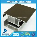Perfil de alumínio da porta do indicador de Argélia do fabricante do perfil da venda popular da fábrica
