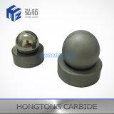 Сфера и седловины клапана карбида вольфрама API стандартные для насосов вставки нефтянного месторождения
