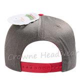 Broche de presión detrás Emb de encargo máximo plano. Sombrero del casquillo del algodón