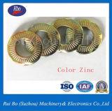 Arandela de bloqueo de resorte del contacto del acero Sn70093