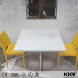 Tableau dinant en pierre de marbre personnalisé par meubles de restaurant