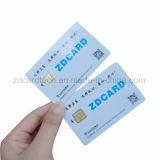 Cr80 tarjeta del contacto del PVC Sle4442/Sle5542/Sle4428/Sle5528
