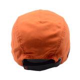 革パッチが付いている習慣5のパネルの野球帽そして帽子