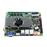 Motherboard van PC HTPC van de Prijs van de fabriek Mini met 2 Havens Ethernet en 2*SATA