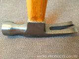 молоток с раздвоенным хвостом 500g с Bamboo ручкой, Anti-Slip стороной деятельности и магнитом
