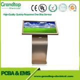 65 polegadas auto-atendimento monitor de ecrã táctil de Chão