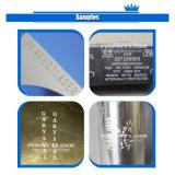 Mini gravure portative neuve de laser d'acier inoxydable de fibre de médaille en métal 2016