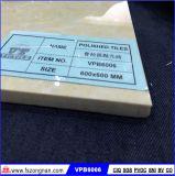 Mattonelle di pavimento Polished di pietra della porcellana di Pulati del materiale da costruzione (VPB6006, 600X600mm)