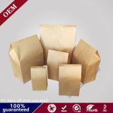 Sacco di carta impaccante di imballaggio per alimenti della carta kraft del sacchetto