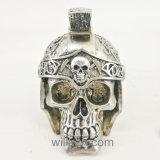 El cráneo de la resina de la venta al por mayor de la decoración de la barra dirige la decoración