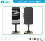 Indicador de diodo emissor de luz impermeável de pólo claro de rua de Pólo P10mm da lâmpada de rua