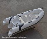 Opblaasbare Boten van Hull van de Luxe van de Fabrikanten van de Boten van de Rib van Liya 12.5FT de Stijve