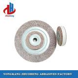 Roues de sablage matérielles d'aileron d'alumine pour les abrasifs enduits (FW2525)