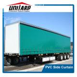 tenda impermeabile del lato del coperchio del camion del PVC di 550GSM 1000d Ripstop