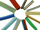 La fibra del PVC reforzó la cadena de producción del manguito/del tubo de la ducha