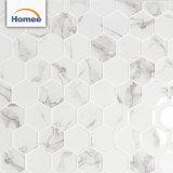 Hexagon Muur betegelt 3D Inkjet Afgedrukte Tegels van de Vloer van de Muur van de Badkamers