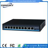 8+2 порта 10/100Мбит/с) сетевой коммутатор Poe с разъемами RJ45 (POE0820восходящей связи BN)