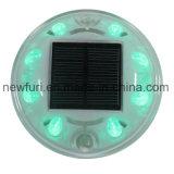 소통량 도로 안전 8PCS 번쩍이는 LED 태양 도로 장식 못