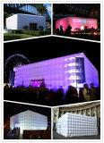 Aufblasbares Hochzeitsfest-Beleuchtung-Würfel-Zelt mit LED