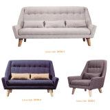 Europa-Art-Schnittgewebe-Sofa mit Taste