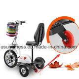 2018 Новая конструкция складная три колеса электрический скутер Trikke мобильность скутер электрический велосипед