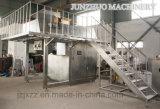Granulador seco seco químico da extrusão do aço inoxidável do pó