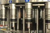 Volle automatische flüssige Wasser-Flaschenreinigung-füllende mit einer Kappe bedeckende Mineralflaschenabfüllmaschine
