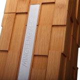 Contenitore impaccante carbonizzato alla moda di vino del regalo di bambù