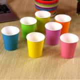 Het Drinken van de Kleur van Eco van de lage Prijs de Vriendschappelijke Zuivere Kop van het Document 3oz