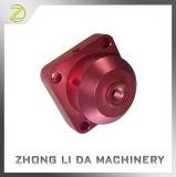Tampão de válvula feito à máquina CNC fazendo à máquina de alumínio das peças do boleto
