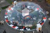 Im Freien transparentes sehr großes aufblasbares Partei-Ereignis-Luftblasen-Zelt
