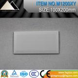 Baumaterial-reine Farbe glasig-glänzende keramische Wand-Fliese für Badezimmer und Küche (M1204X)