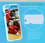 cubierta de la caja del teléfono móvil del espacio en blanco de la sublimación de la impresión 3D 2.o