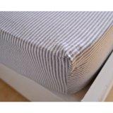 Su uso en casa al por mayor baratos cama de algodón suave montado la hoja (JRD156)