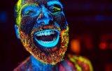 Indicatore luminoso di trattamento UV di nerofumo del LED per pesca del rivelatore della macchia del partito del DJ