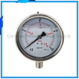 압력계 또는 스테인리스 압력 계기의 4inches 직업적인 제조