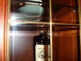 Armário de cozinha sólidos de madeira de cerejeira (JX-KCSW038)