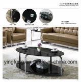 Mesa de centro Home moderna Yf-T17070 do vidro Tempered da mobília