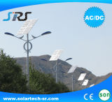 Reines Solarstraßenlaternedes Weiß-30W mit LED-Licht