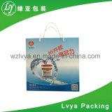 Sacchetto riciclabile su ordinazione del regalo del Libro Bianco di Chirstmas con stampa di marchio