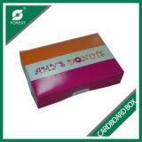 Direct verkoop van het Verpakkende Vakje van de Doughnut van het Document van de Fabrikant