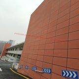 La CE aprobó la Junta de fibra de cemento con coloridas para pared exterior