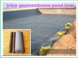 Fournisseurs de plastique de LDPE Geomembrane de feuille de HDPE noir