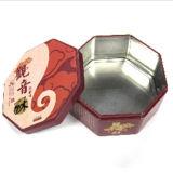 Biskuit-Zinn mit Druck-Metallgeschenk-Kasten