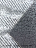 Ткань 100% шерстей полиэфира поддельный