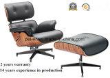 Moderne Möbel Eames lederner Freizeit-Aufenthaltsraum-Stuhl (PE-F5D)