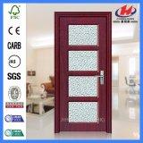 Armário de Kerala e wc de plástico interior de vidro de meia porta de PVC