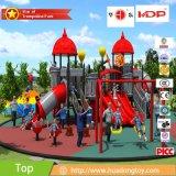 Equipamento ao ar livre atrativo do campo de jogos da série do castelo para crianças com preço de fábrica